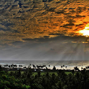 Be blessed! by Blue Bell Bantigue - Landscapes Sunsets & Sunrises