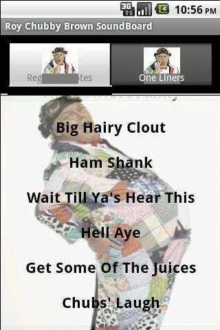 Roy Chubby Brown SoundBoard - screenshot