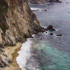 Monterrey Coast by Zetsu Nawa - Landscapes Waterscapes ( sand, monterrey, ocean, beach, coast )