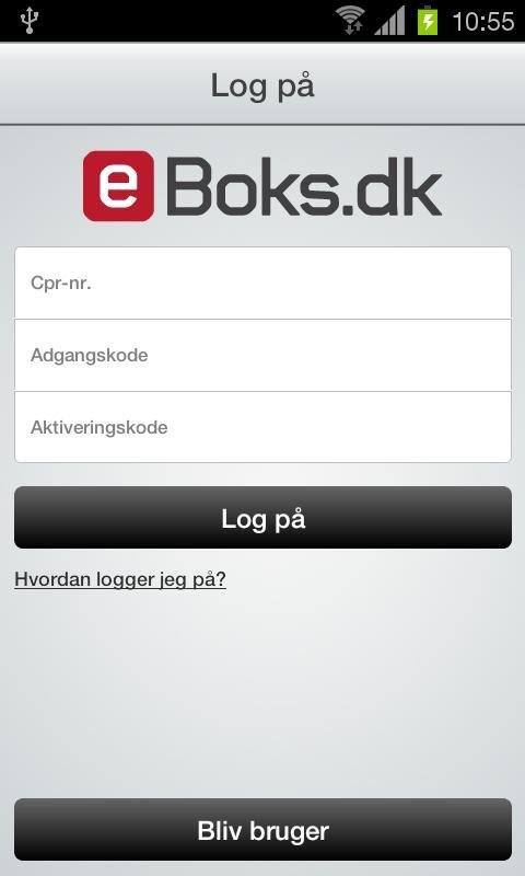 e-Boks.dk- screenshot