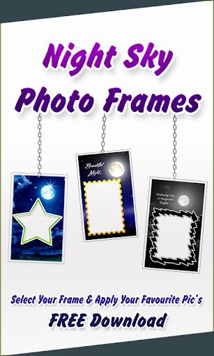 Night Sky Photo Frames