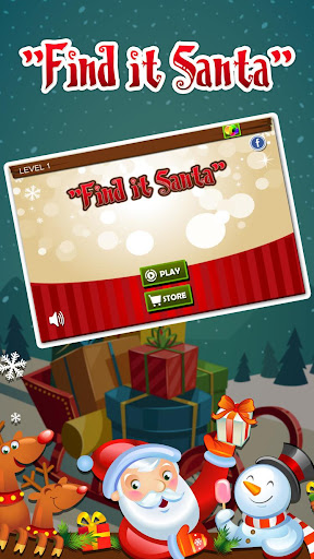 Find It Santa