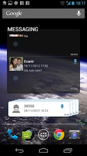 SMS Widget - screenshot thumbnail