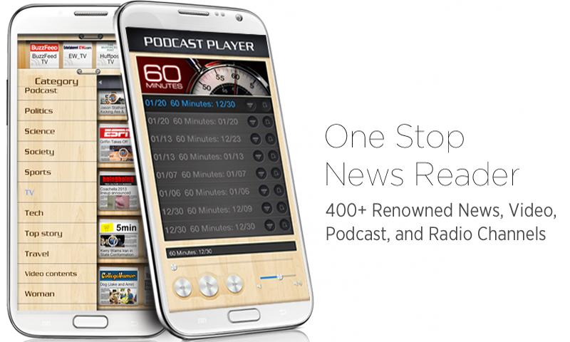 NewsAce Multimedia News Reader - screenshot