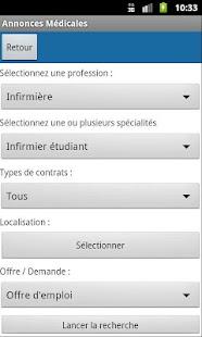 Annonces Médicales - screenshot thumbnail