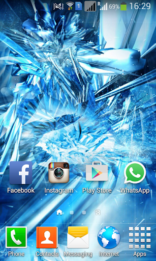 Cool Ice Wallpaper 3D