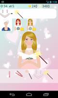 Screenshot of wedding dress up games
