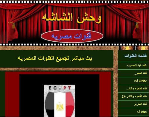 قنوات مصريه