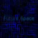 Electric Blue 3D Sci-fi theme icon