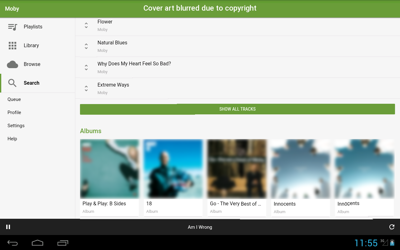 SpotCommander for Spotify - screenshot