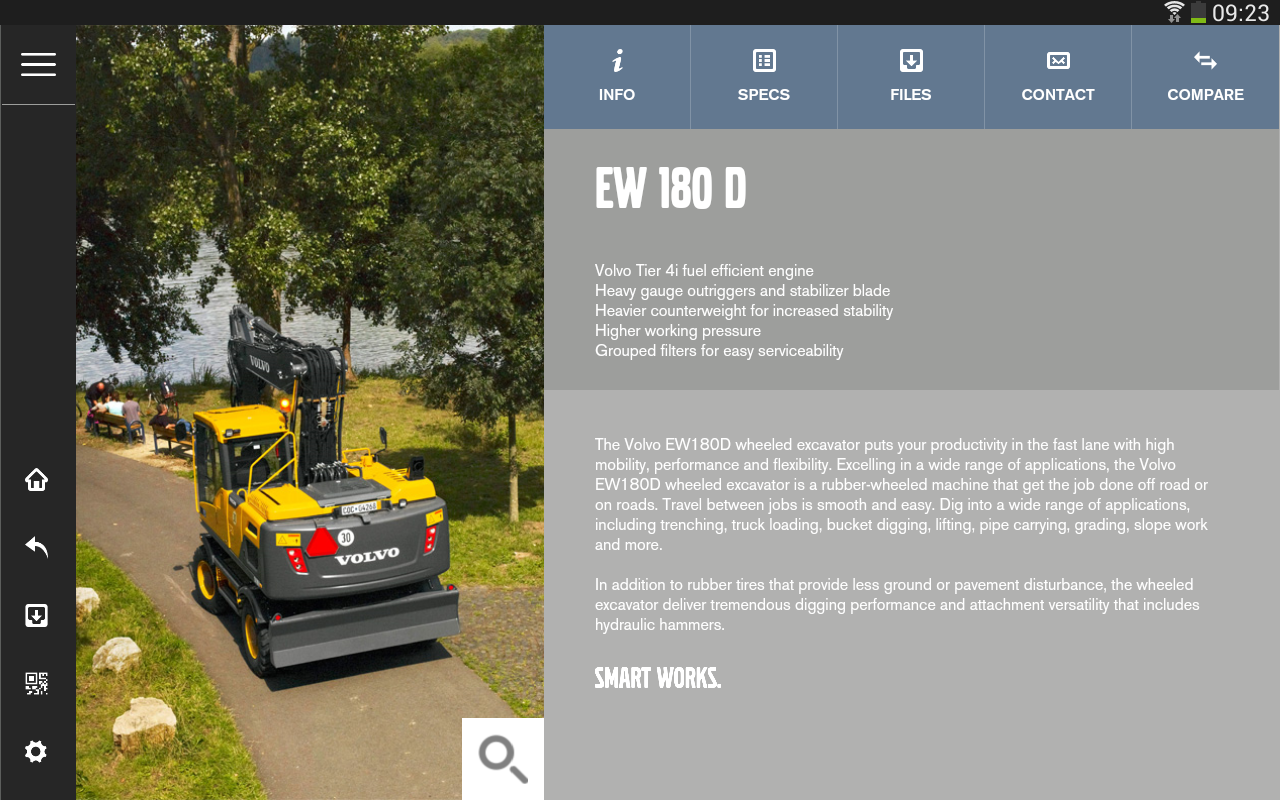 Volvo CE Insider - screenshot