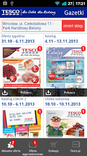 Gazetki Tesco - screenshot thumbnail