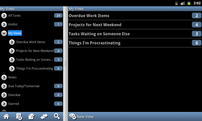 Ultimate To-Do List - Tablet - screenshot
