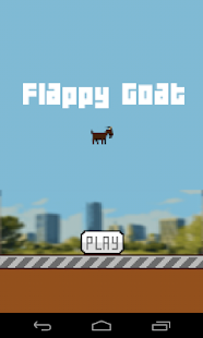Flappy Goat- screenshot thumbnail