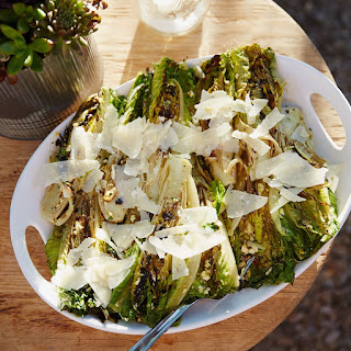 Grilled Hearts of Romaine Salad