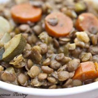 Clean Eating Curried Lentils