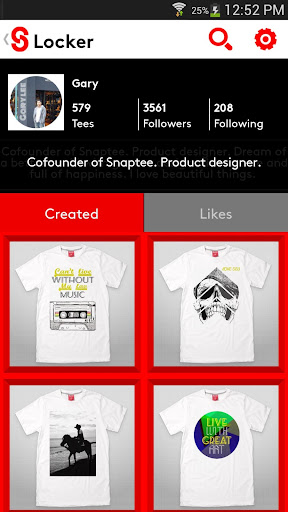 玩免費生活APP|下載T-Shirt 設計 - Snaptee app不用錢|硬是要APP