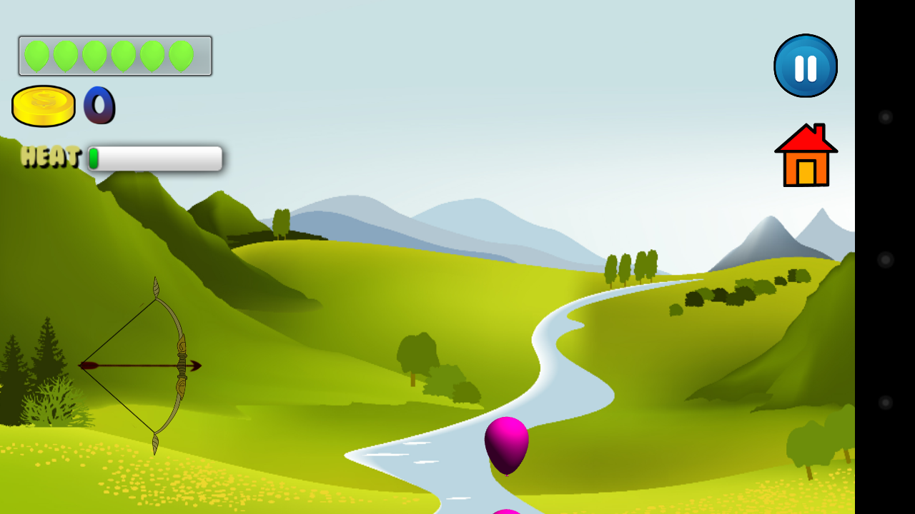 Balloon Archery Shooter- screenshot
