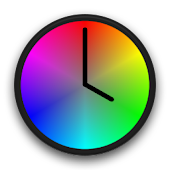 Color Clock Wallpaper