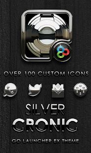 GO Launcher EX theme Cronic