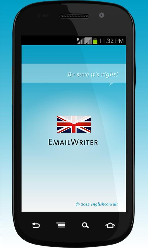 EmailWriter- screenshot