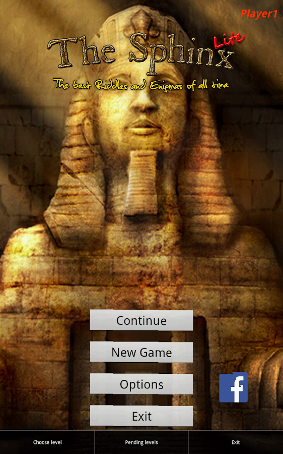 The Sphinx Riddles Lite- screenshot