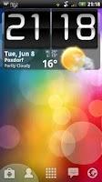 Screenshot of Sense Live Wallpaper Pro