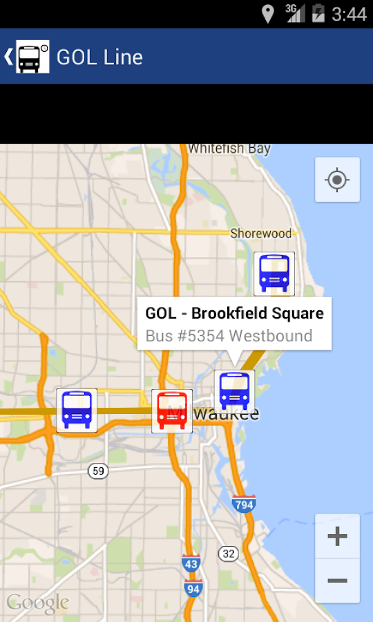 MCTS Tracker- screenshot