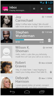 T-Mobile Visual Voicemail - screenshot thumbnail