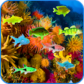 Under Water Fishes LWP