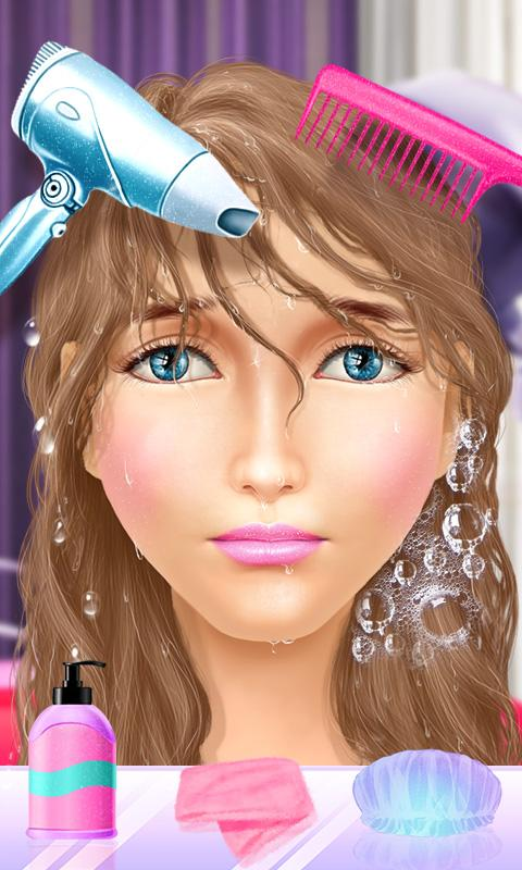 princess makeover hair salon android apps on google play