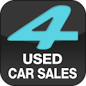 4USED CAR SALES logo