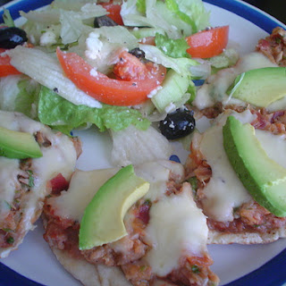 Smoked Tuna Pizza.