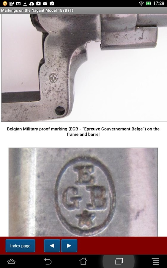 Nagant model 1878 explained- screenshot