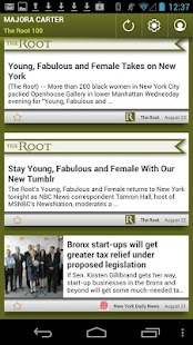 Majora Carter: The Root 100 - screenshot thumbnail