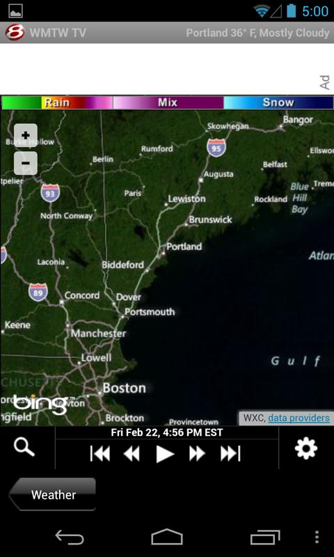 WMTW 8 TV - news and weather - screenshot