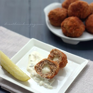 Chicken Cordon Bleu Meatballs – Low Carb and Gluten Free