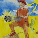 Cowboy with a Gatling Gun icon