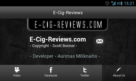 E-Cig-Reviews.com App - screenshot thumbnail