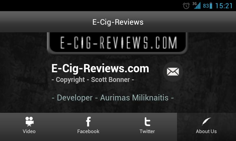 E-Cig-Reviews.com App - screenshot