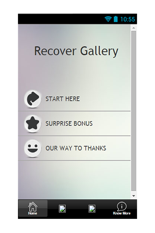 Recover Gallery Guide