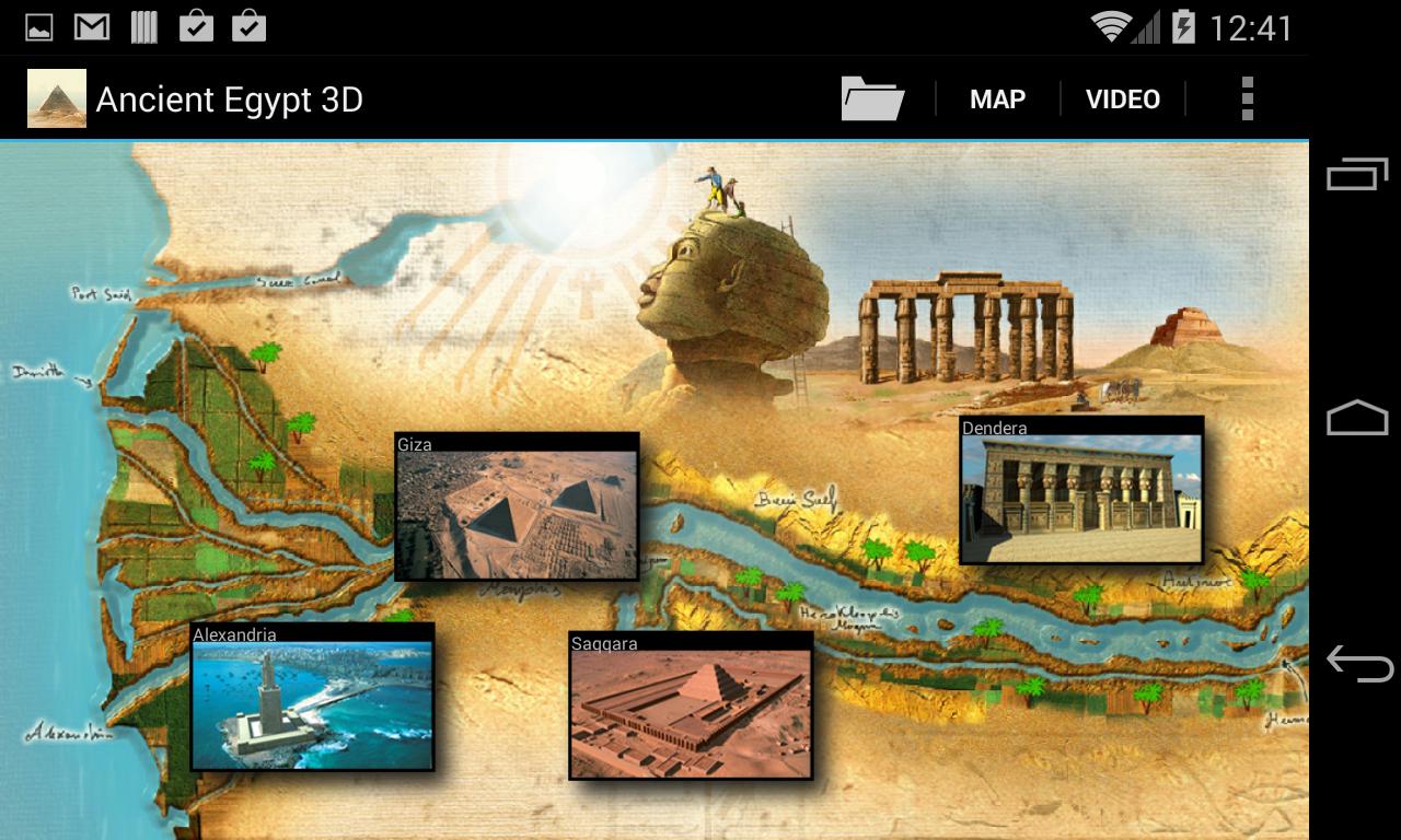 Ancient Egypt D Google Play Store Revenue Download Estimates US - Map of egypt 3d