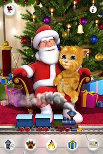 Talking Santa meets Ginger + - screenshot thumbnail