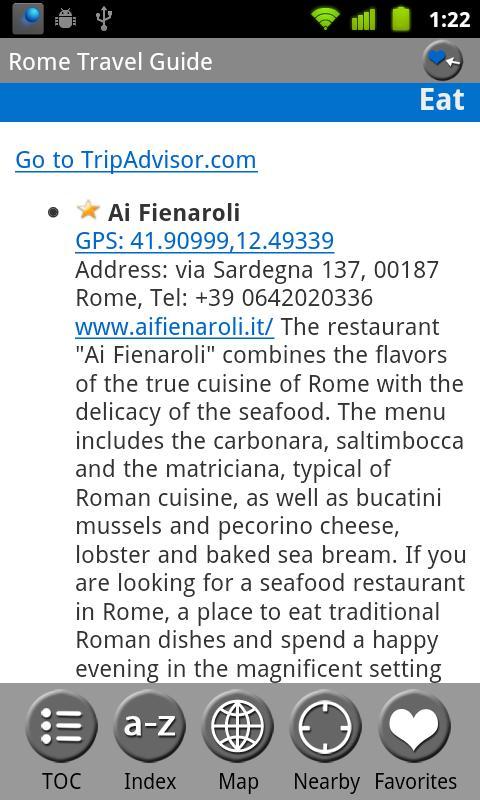 Rome & Lazio, Italy FREE Guide- screenshot