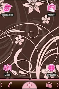 Cherry Blooms Theme - screenshot thumbnail