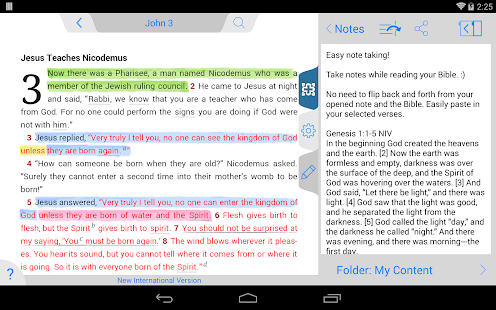 New American Standard Bible - screenshot thumbnail