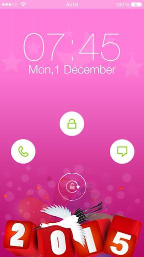 New Year Yo Lock Screen