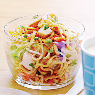 Vegetable and Chicken Lo Mein