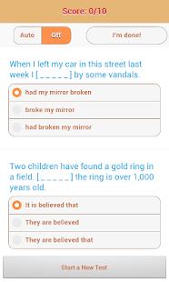 1800 Grammar Tests (Free) - screenshot thumbnail