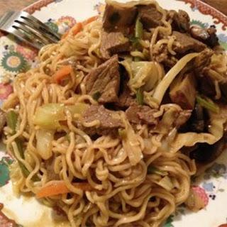 Spicy Thai Steak and Vegetable Stir Fry.